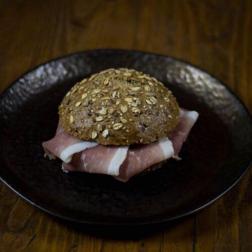 Broodje Rauwe ham