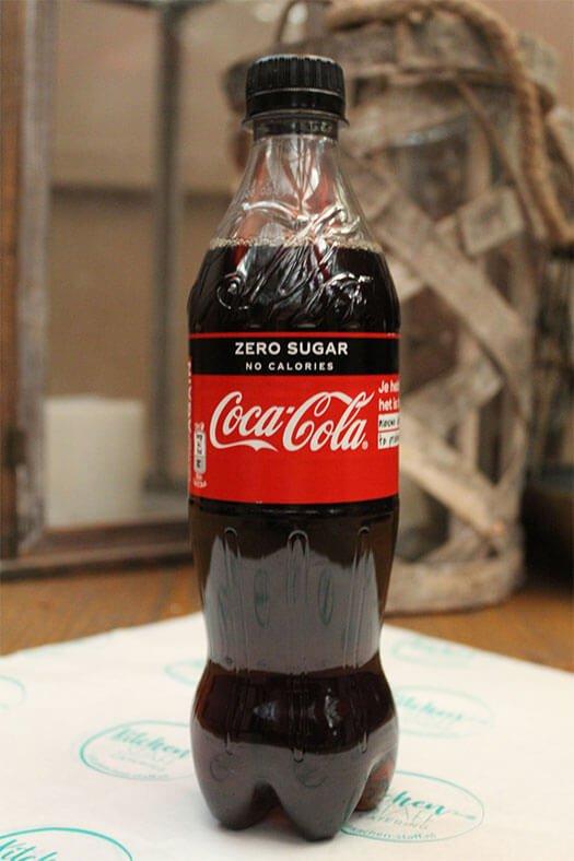 flesje coca cola zero