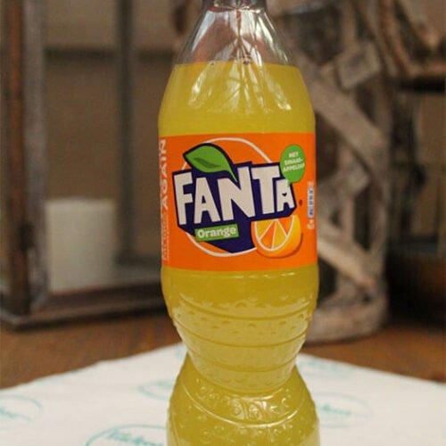 flesje fanta orange