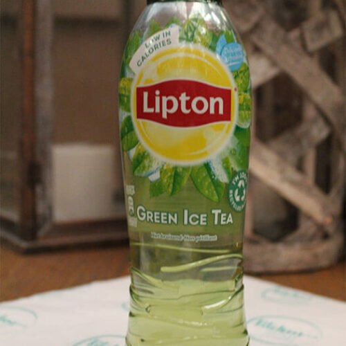 flesjes lipton ice tea green