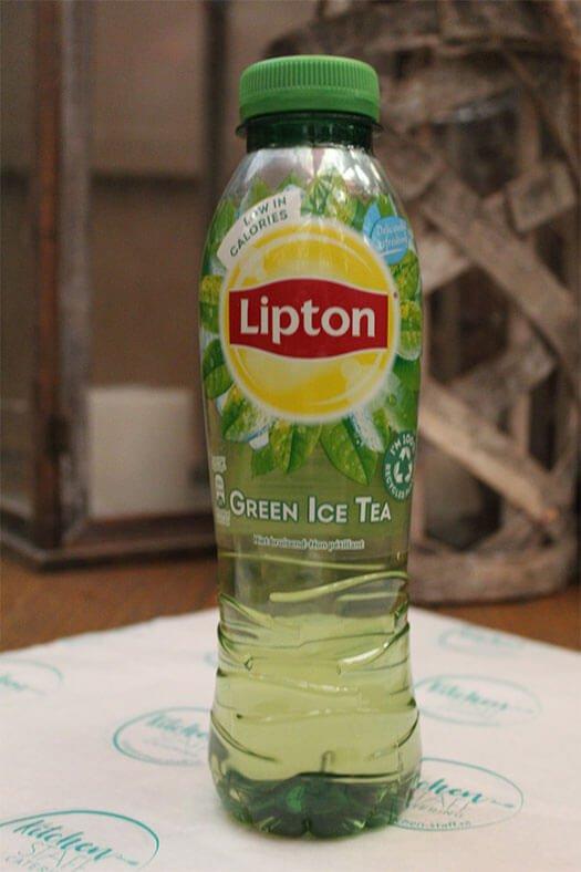 flesjes lipton ice tea green